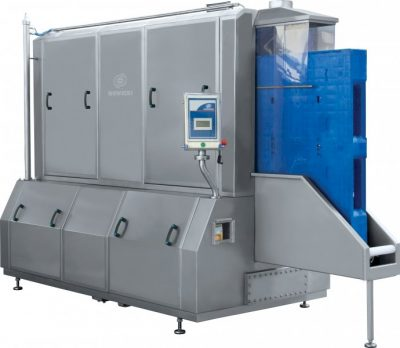 Pallet washer MEP-100 with pallet